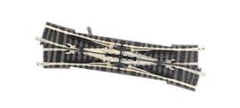 Fleischmann - N rails met bedding