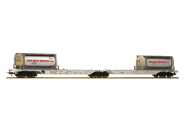 H0 | Roco 76928 - AAE containerwagen Van den Bosch