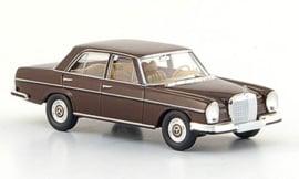 H0 | Brekina Starmada 13101 - Mercedes 280 SE (W108), dark brown, 1965, without cardboard slipcase