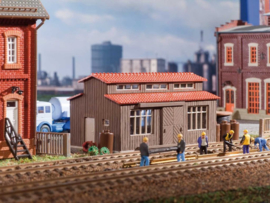 H0   Vollmer 45622 - Freight shed for hazardous goods