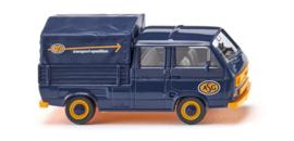 """H0   Wiking 029308 - VW T3 dubbelcabine """"ASG"""" (1)"""
