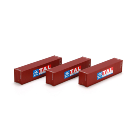 H0   Athearn ATH29165 - Container 3 Pack 40' - TAL