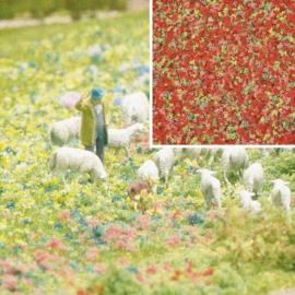 H0/N/Z | Busch 7357 - Bloemvlokken zomerbloemen