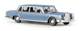 H0 | Brekina Starmada 13006 - Mercedes 600 Pullman Limousine, ijsblauw metallic
