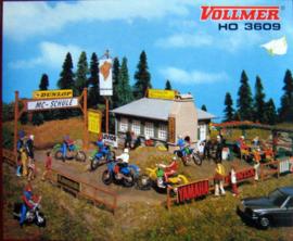 H0 | Vollmer 43609 - Motorcross