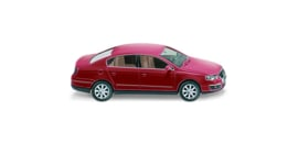 H0   Wiking 006403 - VW Passat Limousine , tornadorood (1)