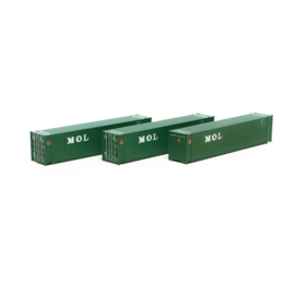 H0 | Athearn ATH28868 - Container 3 Pack 45' - MOL
