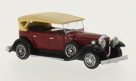 H0 | BoS-Models 87155 - Packard 733 Straight 8 Sport Phaeton,donkerrood/zwart, 1930