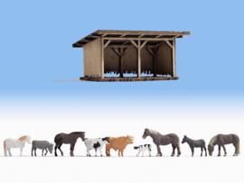 H0   NOCH 12042 - Schuilplaats voor vee