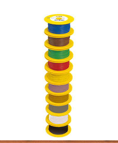 Brawa 3112 - Draad, 0,14 mm², 100mtr, rood
