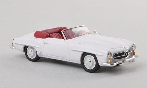 H0 | Ricko 38293 - Mercedes 190 SL (W121 BII), white