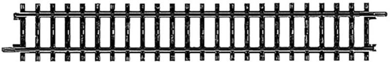 H0 | Märklin 2200 - Recht railstuk (K-rail)
