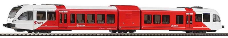 N   Piko 40228 - Stadler dieseltreinstel GTW 2/6  Veolia