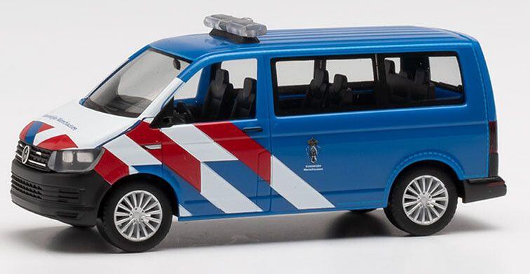 H0 | Herpa 941891 - VW T6 Marechaussee nieuwe striping (NL)