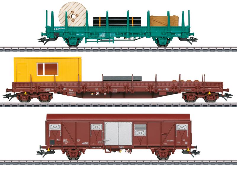H0 | Märklin 49956 - NMBS, Set dienstwagens