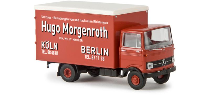 H0 | Brekina 48526 - MB LP 608 Koffer Hugo Morgenroth