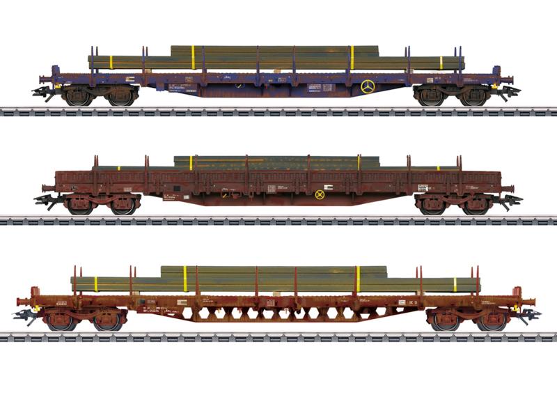 H0 | Märklin 47160 - CFL, Set platte wagens