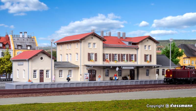 N | Kibri 37710 - Station Grunzbach