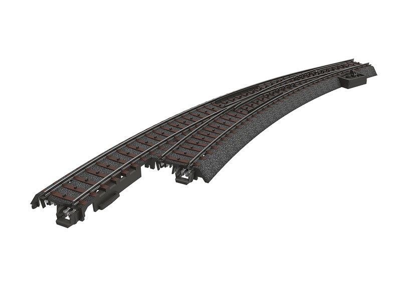 H0 | Märklin 24771 - Bochtwissel slank links R515 mm - 30Gr (C-rail)