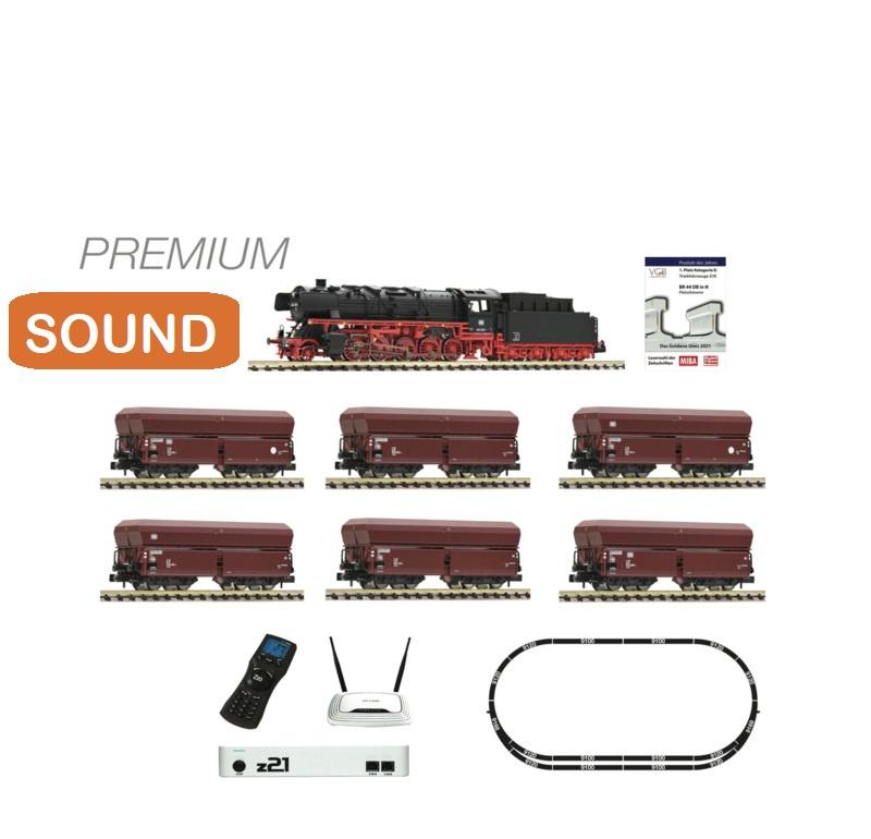 N   Fleischmann 931898 - DB, z21 digitale set. BR044 met ertstrein (DCC sound)