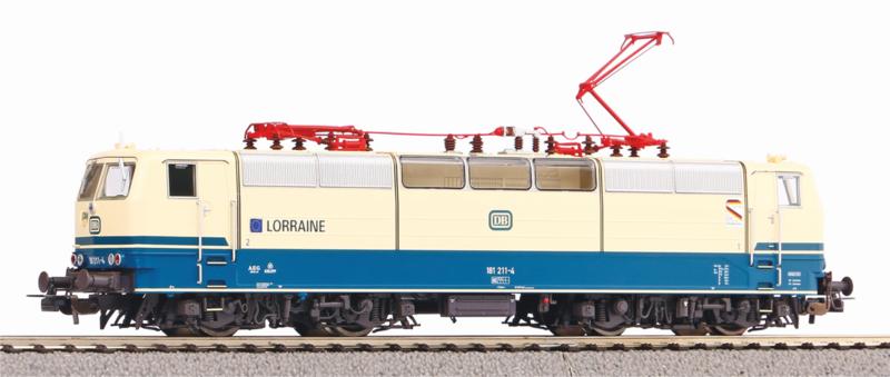 H0   Piko 51353 - DB, Elektrische locomotief BR 181.2 (DC sound)