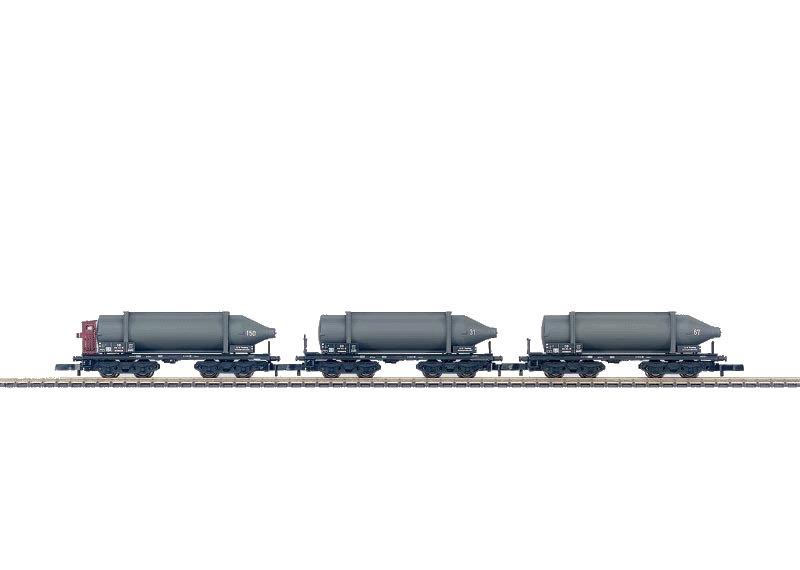 Z | Märklin 82090 - Set carbid-flessenwagens