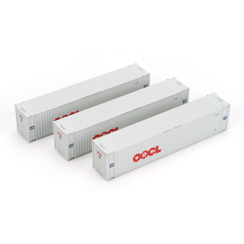 H0 | Athearn ATH28870 - Container 3 Pack 45' – OOCL
