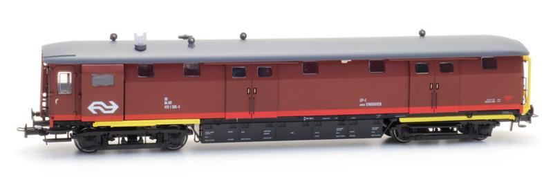 H0 | Artitec 20.249.03 - Ongevallenwagen NS 505-3, bruin, NS-logo, depot Eindhoven