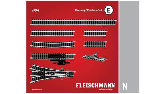 N   Fleischmann 9194 - Railset E