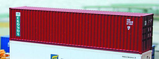 N | De Luxe 20020 - set 40' containers Cronos / Hi-Cube