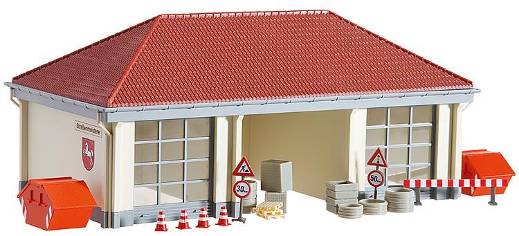 H0 | Faller 120258 - Garage Rijkswaterstaat