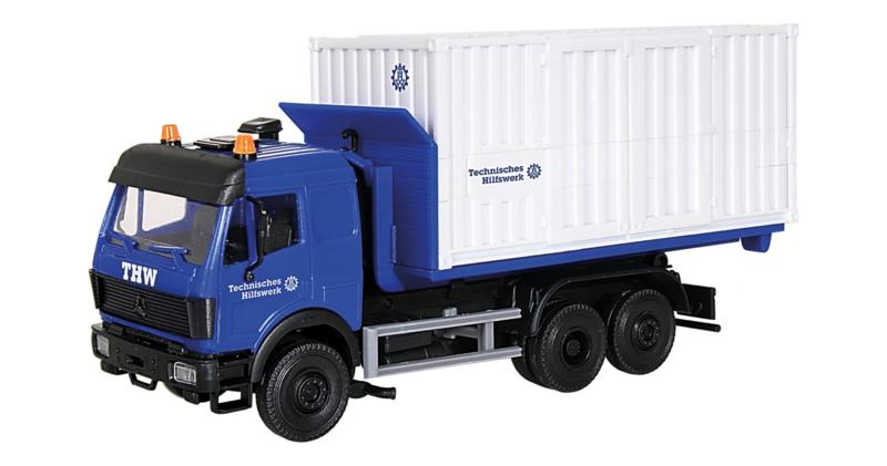 H0 | Kibri 18461 - THW MB met container