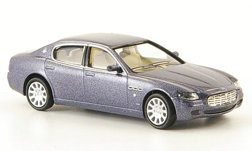 H0 | Ricko 38306 - Maserati Quattroporte,blauw metallic, 2003
