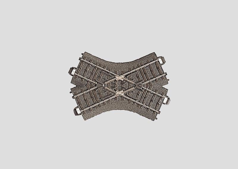 H0 | Märklin 24649 - Kruising 103,3 mm - 48,6Gr (C-rail)
