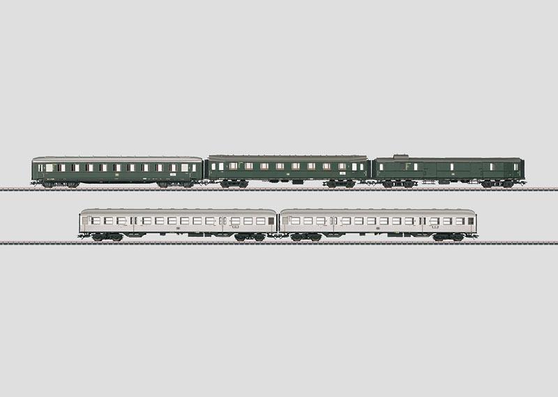 H0 | Märklin 42269 - DB, Set sneltreinrijtuigen.