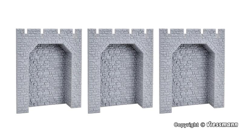 H0 | Vollmer 44508 - Arcade inzet 3 stuks