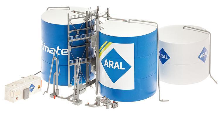 H0   Faller 130485 - ARAL tank farm