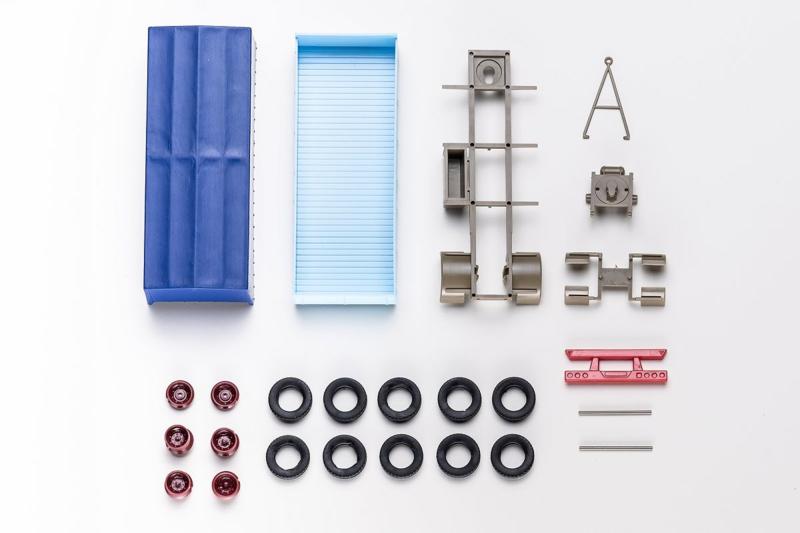 H0 | VK Modelle 77003 - Bouwpakket aanhanger