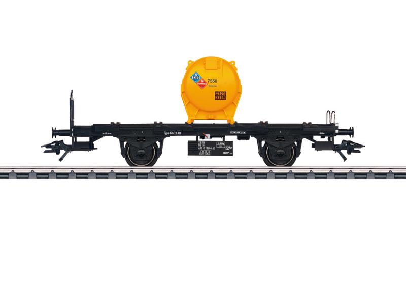 H0 | Märklin 48953 - NMBS, Containerwagen voor losgoedcontainers