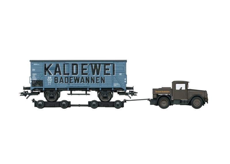 H0 | Märklin 48822 - DB, Gesloten goederenwagen G 10.