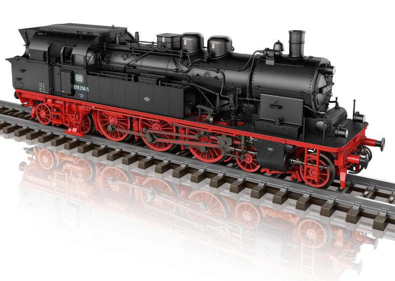 H0 | Märklin 39785 - DB, Stoomlocomotief serie 078 (AC sound)