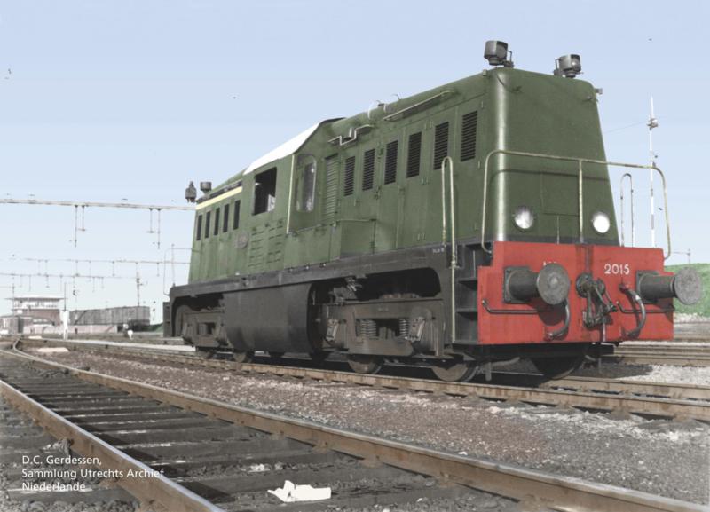 H0   Piko 52461 - NS, Diesellocomotief serie 2000 (AC digitaal)