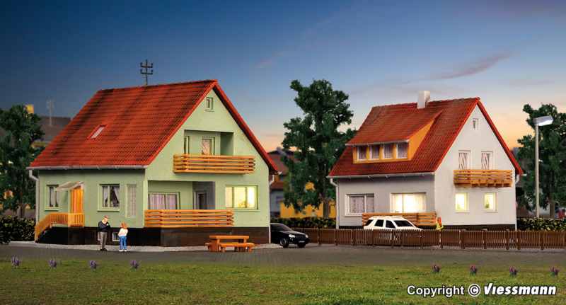 N | Kibri 37040 - Family house Meisenweg, 2 pieces