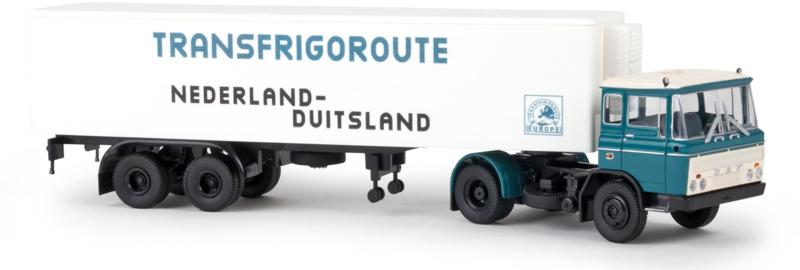 "H0 | Brekina 85279 - DAF FT 2600 ""Transfrigoroute"""
