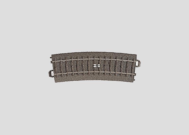 H0   Märklin 24294 - Gebogen schakelrail R437,5 mm - 15Gr (C-rail)