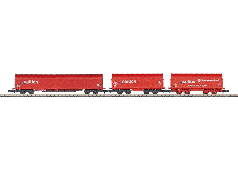 Z   Märklin 82522 - Set goederenwagens Railion