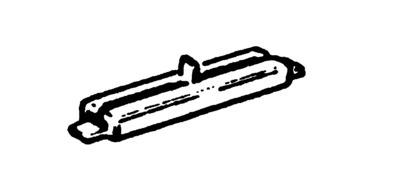N | Fleischmann 22214 - Raillas geïsoleerd (verpakt per 24)