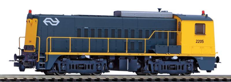 H0 | Piko 55902-2 - NS, Dieselloc NS 2221 (DC Sound)