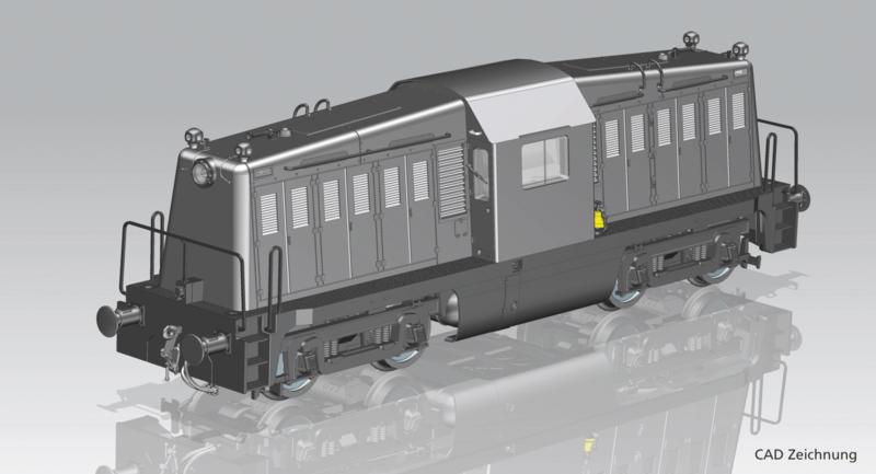 H0   Piko 52467 - USATC, Diesellok BR 65-DE-19-A (AC sound)