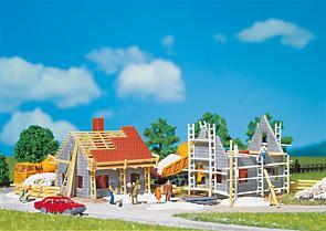 N   Faller 232223 - 2 Houses under construction